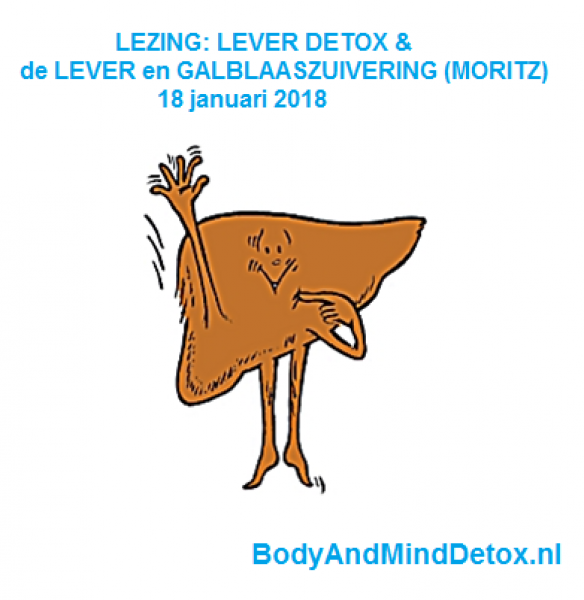 LEVERDETOX & GALBLAASZUIVERING; Lezing door Monique Berends 18 januari 2018