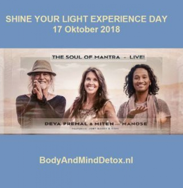 Shine your Light Experience Day (16 en 17 oktober 2018)