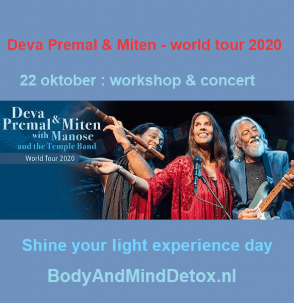 Shine your Light Experience Day (22 oktober 2020)