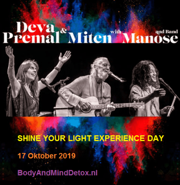 Shine your Light Experience Day (17 oktober 2019)