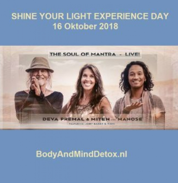 Shine your Light Experience Day (dinsdag 16 oktober 2018)