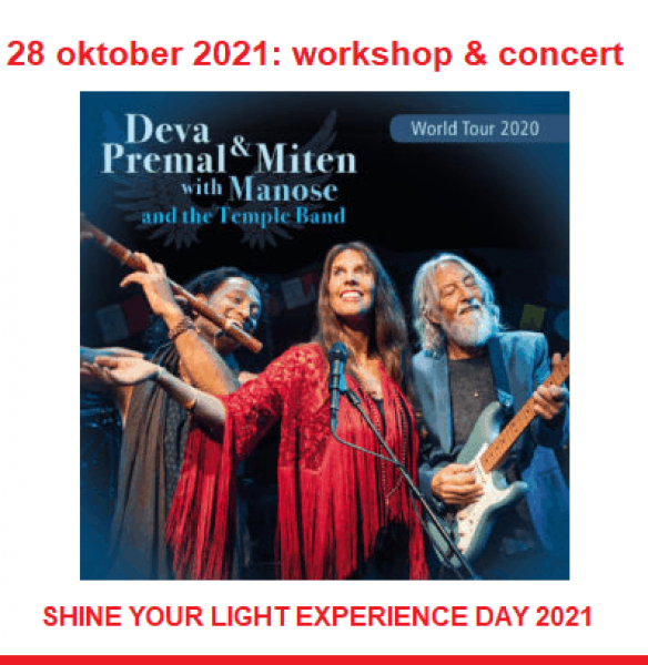 Shine your Light Experience Day (28 oktober 2021)